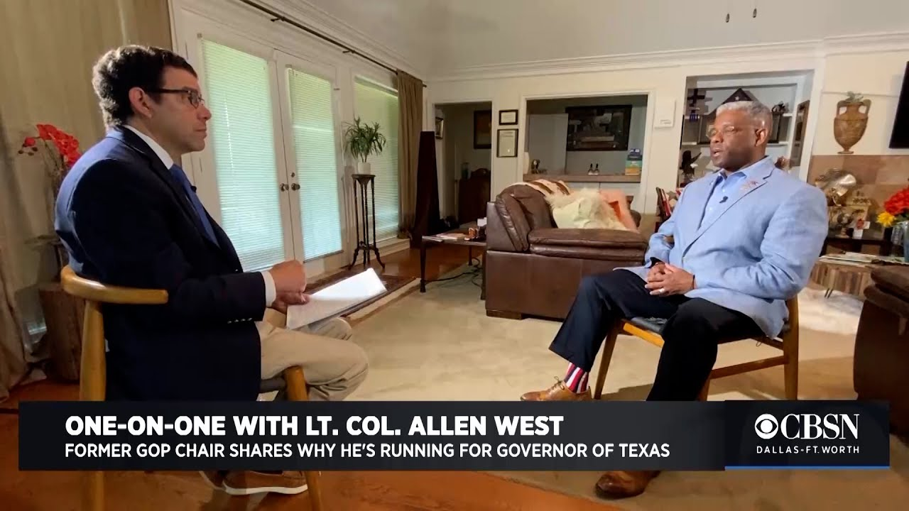 Allen West, unvaccinated Republican running for governor in Texas ...