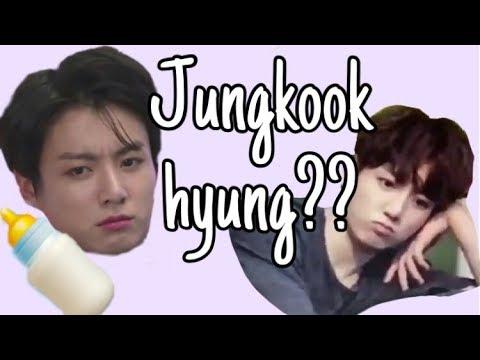 """Jungkook hyung""will always be BTS's baby maknae"