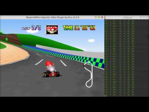 TensorKart: self-driving MarioKart with TensorFlow