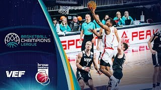 VEF Riga v Brose Bamberg - Full Game - Basketball Champions League 2019-20