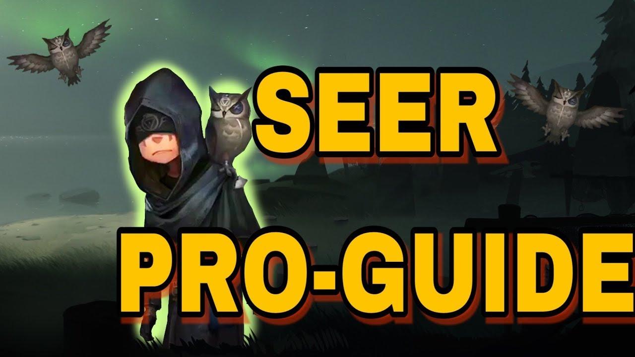 Identity V Pro Seer Guide Youtube