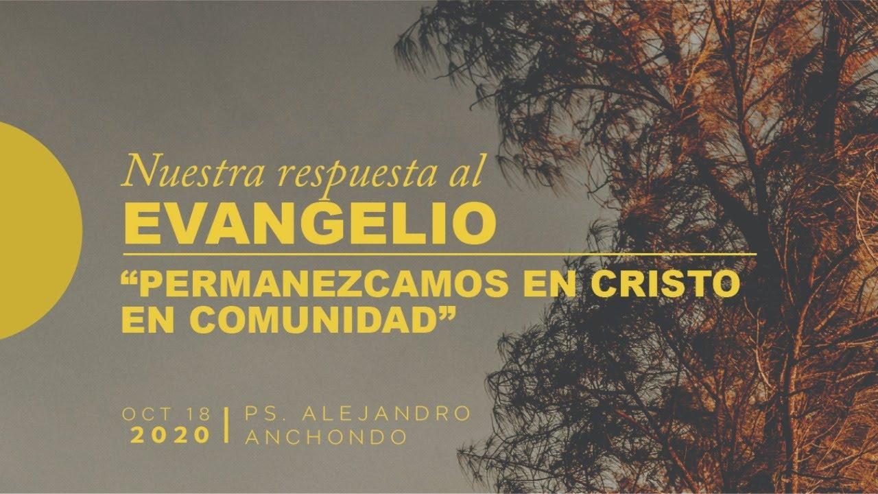 (En Vivo) Permanezcamos en Cristo en comunidad