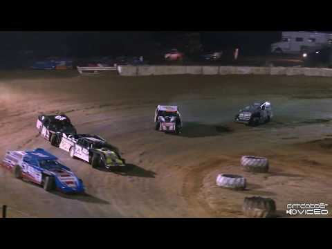 Open Wheel Modified Feature Hattiesburg Speedway 2/28/20. - dirt track racing video image