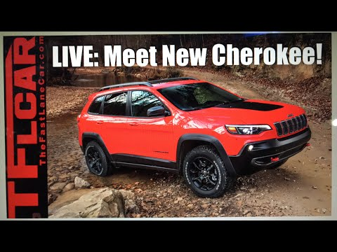 LIVE: Meet the New 2019 Jeep Cherokee