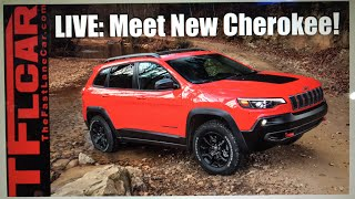 LIVE Meet the New 2019 Jeep Cherokee