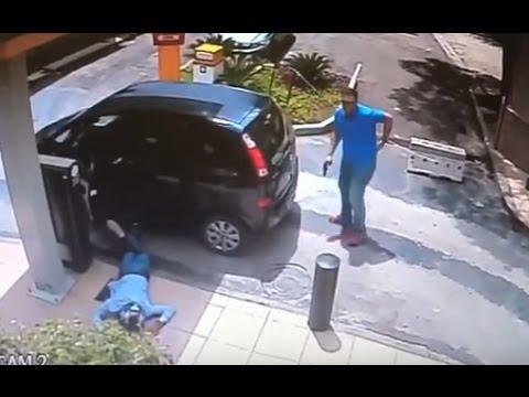 Surveillance: Brazilian Man Attempts to Rob Off-Duty Cop Mp3