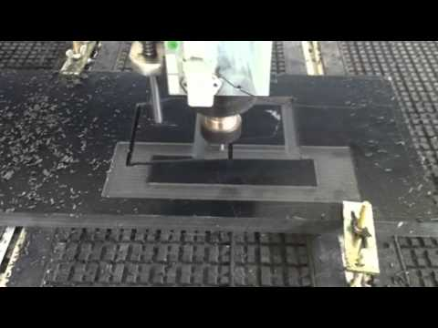 Two Heads CNC Machine Working video