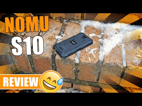 NOMU S10 - Günstiges Outdoor Smartphone? [Review, German, Deutsch]