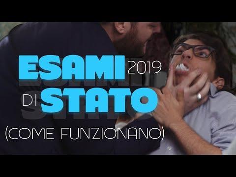 ESAMI DI STATO 2019 - COME FUNZIONANO