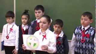 Урок милосердия.4 А класс. Школа № 3. г. Степанакерт