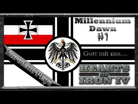 [HoI4-Millennium Dawn] Rise of The Kaiserreich -  | Part 1 - Hearts of Iron IV | Kurodani Plays