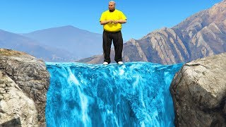 Behind The Secret Waterfall.. (GTA RP)