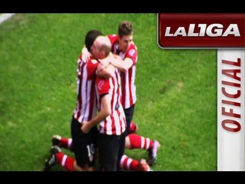 Golazo de Toquero en el Athletic de Bilbao - M�laga CF J24 Liga BBVA 2011/2012 Edici�n Limitada