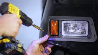light kit designed for yamaha g22   how to install video   madjax golf cart accessories