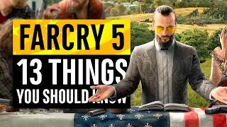 Far Cry 5 | 13 Things You Need To Know