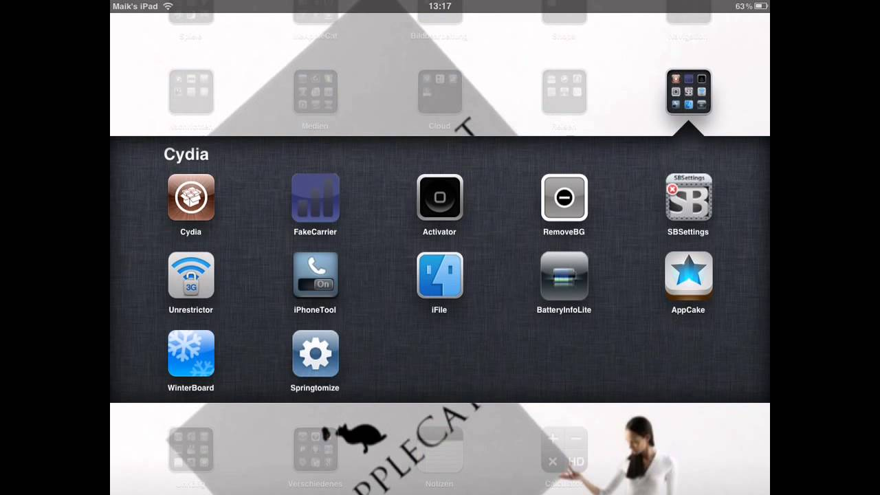 Remove Background Cydia Tweak / Kill all your Apps / iPhone