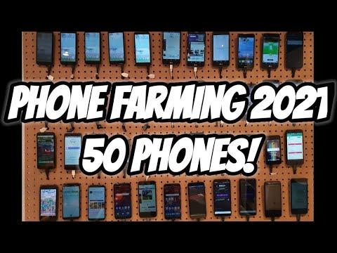 Phone Farm 2021   Is It Worth It?   50 Phone Farm   Nioxy Hustles