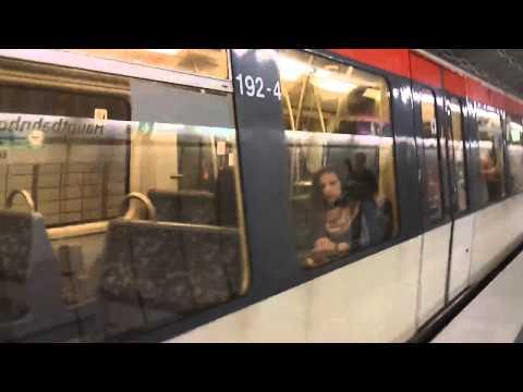 Hamburg Metro U-Bahn U4 - Hauptbahnhof Nord
