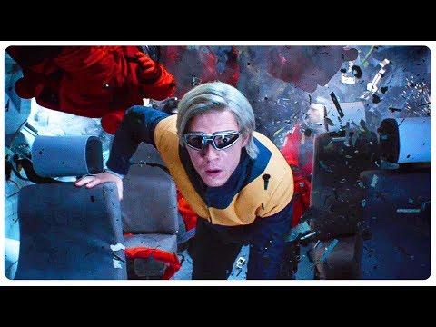 Quicksilver Saves Everyone From Solar Flare Scene - X-MEN DARK PHOENIX (2019) Movie CLIP HD