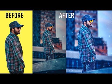 CHANGE BACKGROUND | REPLACE PHOTO | PHOTOSHOP TUTORIAL thumbnail