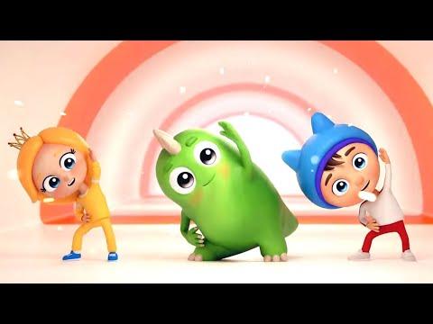 Детская мультфильм зарядка