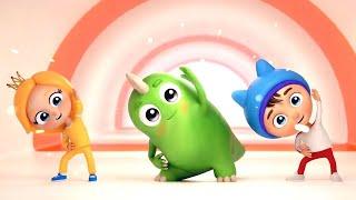 Детские песни Сина и Ло - Зарядка - Развивающие мультфильмы для детей