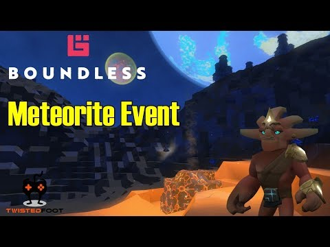 Meteorite Event | Boundless Let's Play Gameplay PC