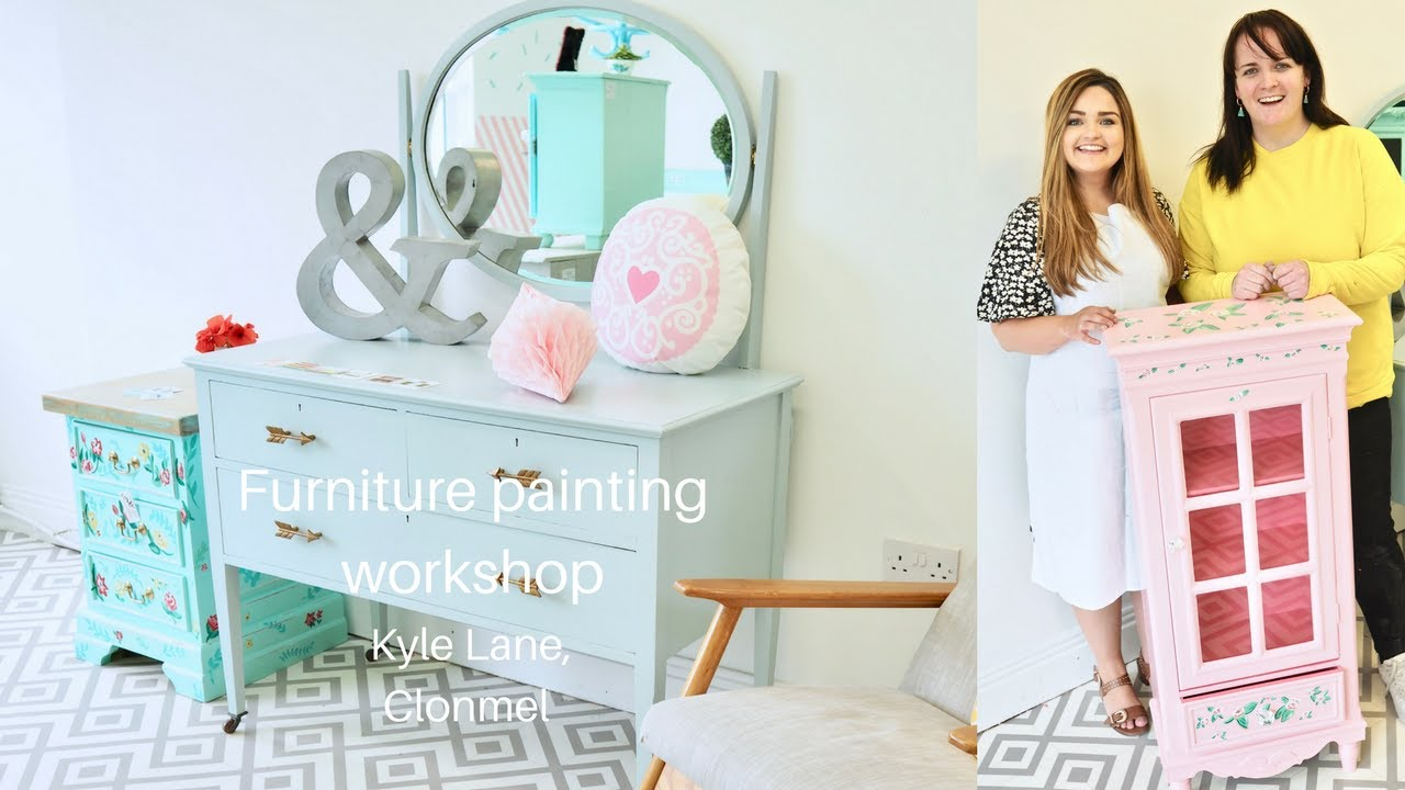 Superbe Furniture Painting Workshop With Kyle Lane, Clonmel