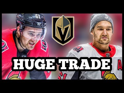 Mark Stone TRADED To The Vegas Golden Knights