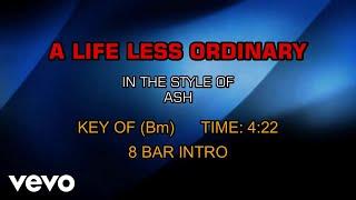Ash - A Life Less Ordinary (Karaoke)