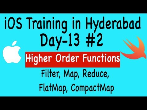 iOS Training in Hyderabad- Day13- Part 2: Swift Higher Order Functions thumbnail
