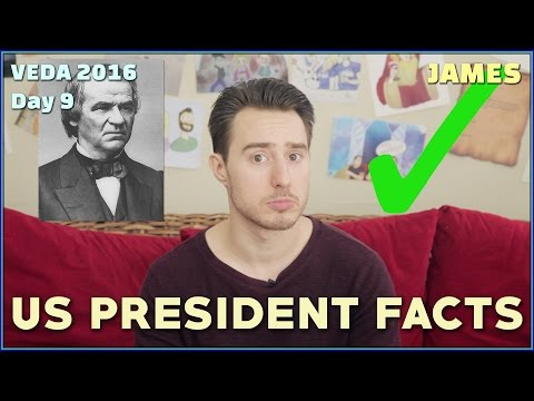 US President Facts! // VEDA 2016 Day 9