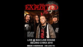 The Exploited live in Mao China 2015