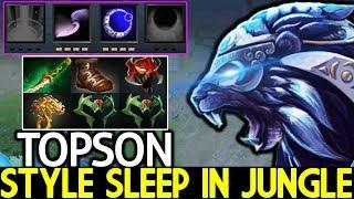 TOPSON [Luna] Madness Sleep in Jungle Pro Player Style 7.23 Dota 2