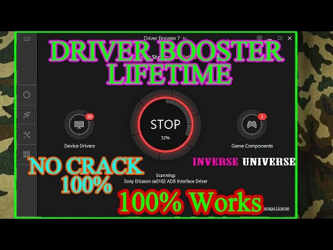 Driver Booster 7 PRO Easy Install  Lifetime *NO CRACK