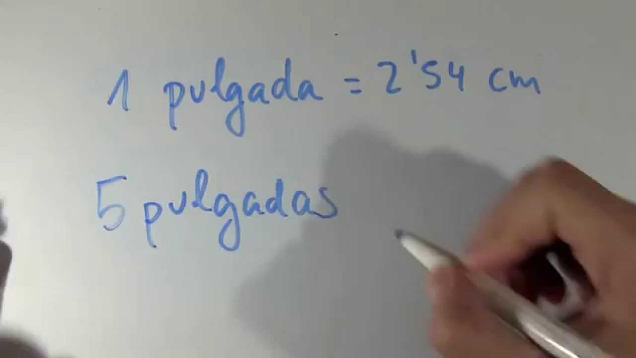 Cuanto Son 5 Pulgadas En Cm Equivalencia Pulgadas Centímetros En Pantallas De Móviles O Celulares Youtube