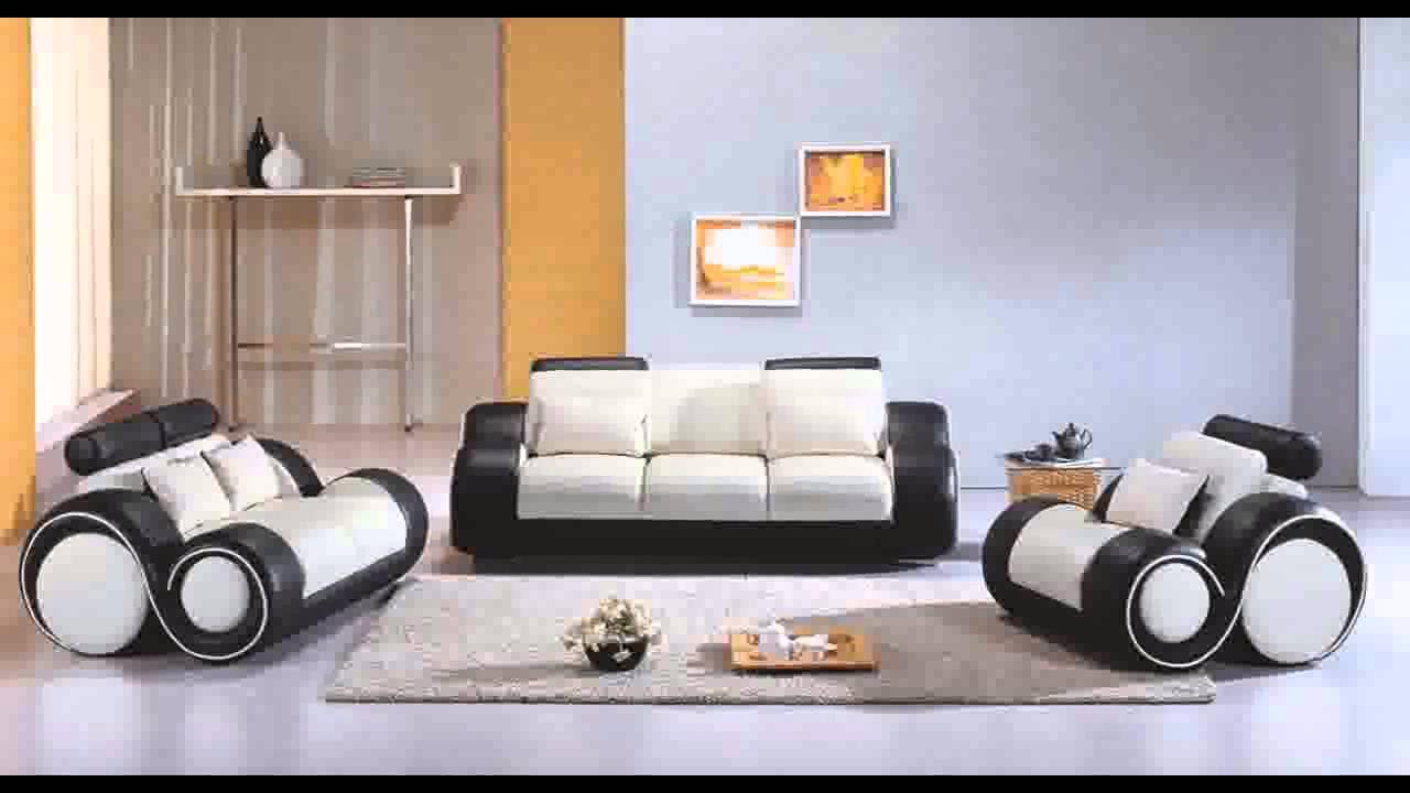 Divani Casa 4088 Contemporary Leather Sofa Set Youtube