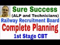 Railway Recruitment 2018: Complete Planning: ALP and Technician Exam