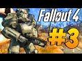 Fallout 4 - Прохождение на русском #3 Силовая броня и коготь смерти!