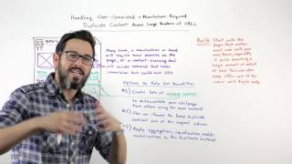 Manufacturer Required Duplicate Content Across Large Numbers of URLs   Whiteboard Friday