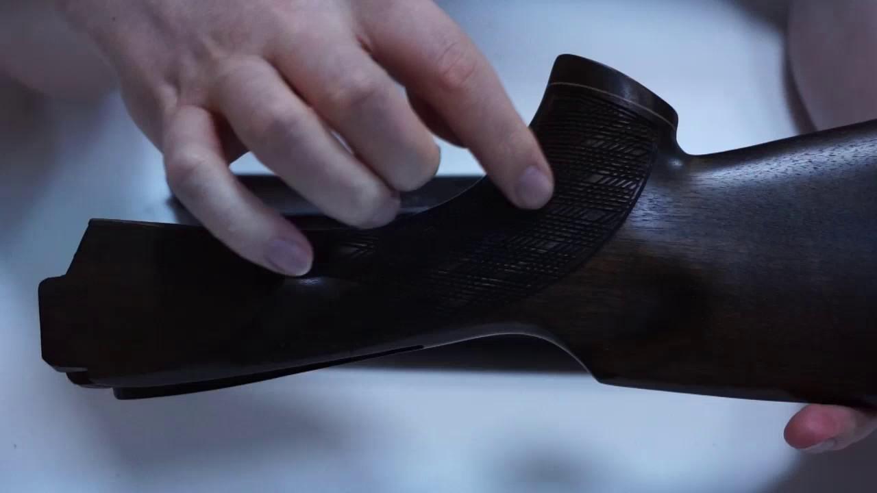 ТОЗ 34 Приклад и цевье Монте Карло люкс орех - YouTube