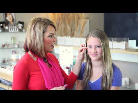 How to Do a Makeover on Yourself for Middle School : The Best Makeup Choices
