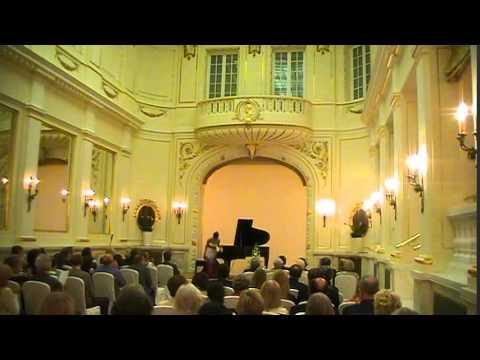 Lisa Nakazono Piano Recital in Poland2013  中園理沙 【ショパンde星に願いを:ホールニューワールド】