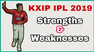 IPL 2019 - KXIP Strengths and weaknesses