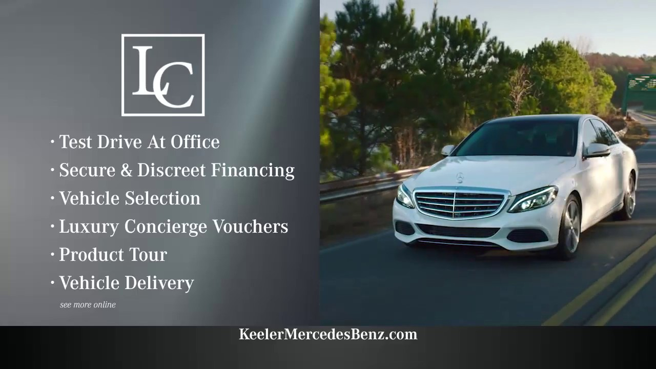 The luxury concierge program at the mercedes benz center for Keeler motor car company