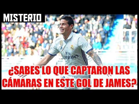 ¿Sabes lo que captaron las cámaras en un gol de James?