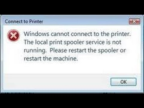 Printer Spooler Windows Vista