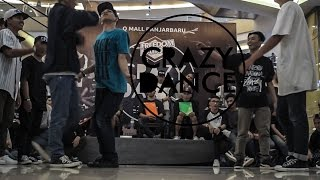 CRAZY DANCE 2015 LIL CHUCK VS RIVER RUCKUS | TOP 8 3v3 | STRIFE.TV INDONESIA