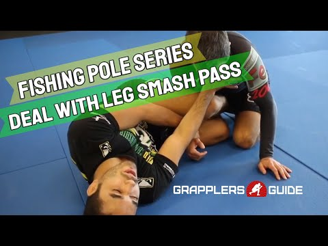 Michael Perez - Fishing Pole Guard - Dealing With Opponent's Leg Smash Attempt #2