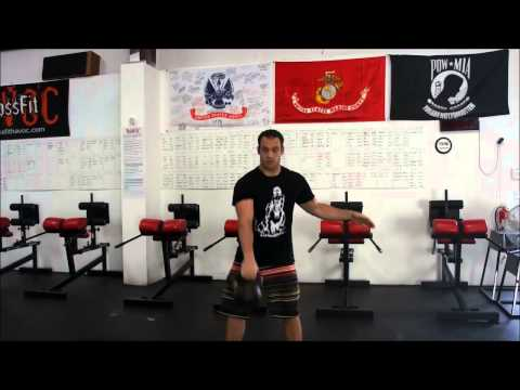 how to perform a clean and jerk